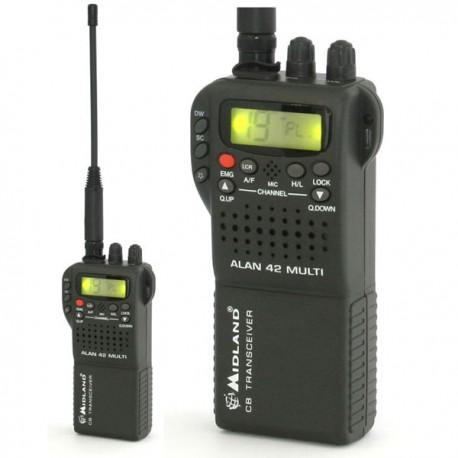 27Mc AM/FM port 4watt 80kan.