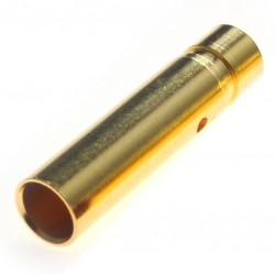 4mm Female gold connector