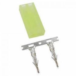 Micro Tamiya Male connector (accu kant)