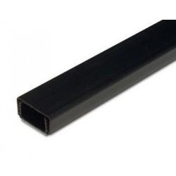 kabelgoot 20x10-15mm 2mtr zwart