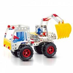 Graafmachine/truck 18x9x20cm