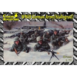 WWII GERMAN ARMY (STALINGRAD) 1/72