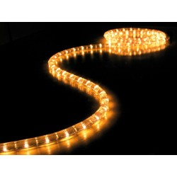 230V LED lichtslang warmwit per meter