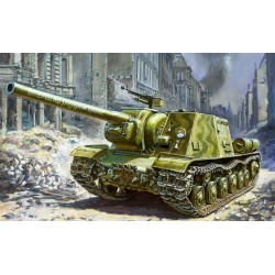 SOVIET TANK DESTROYER ISU-122 1/35