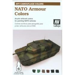 NATO Armour Colors painting set 6x8ml.