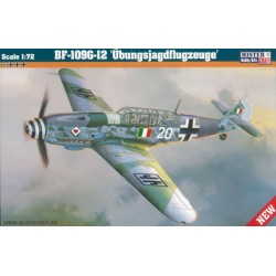 BF-109G-12 UBUNGSJAGDFLUGZEUGE 1/72