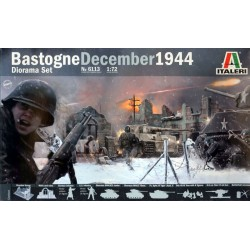 BASTOGNE DECEMBER 1944 DIORAMA SET 1/72