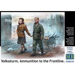 VOLKSSTURM. AMMUNITION TO THE FRONTLINE 1/35