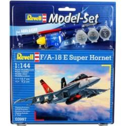 GESCHENKSET FA-18E SUPER HORNET 1/144 13cm