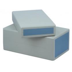 Kunststof kastje grijs 195x110x76mm