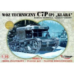WWII KLARA C7P GERMAN VERSION 1/35