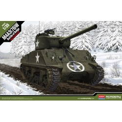 U.S. ARMY M4A3 76MM BATTLE OF BULGE 1/35
