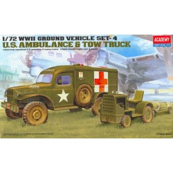 U.S. AMBULANCE & TOWING TRACTOR 1/72