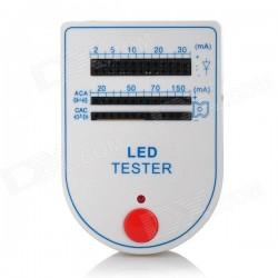 Ledtester voor losse led's incl 9V batterij