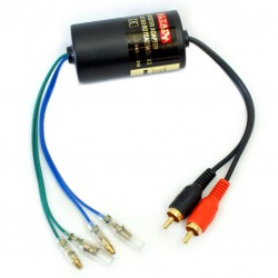 speaker  line adapter 2x30W max input