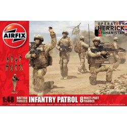 BRITISH FORCES INFANTRY PATROL 1/48