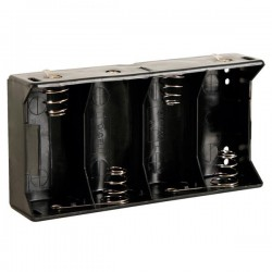 Batterijhouder  4x D cell