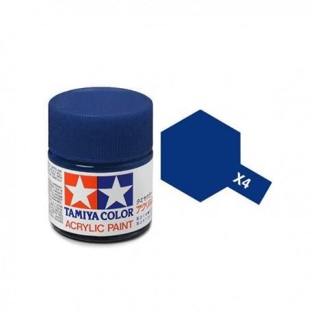 Potje acrylverf X-4 blue 23cc