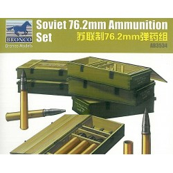 SOVIET 76.2MM AMMUNITION SET 1/35