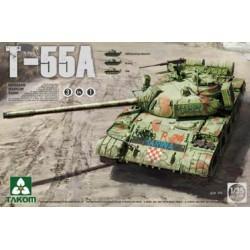 RUSSIAN MEDIUM TANK T-55A (3IN1) 1/35