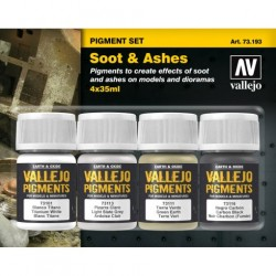 Pigment set Soot & Ashes 4x35ml.