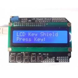 LCD&keypad shield voor arduino