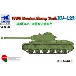WWII RUSSIAN HEAVY TANK KV-122 1/35