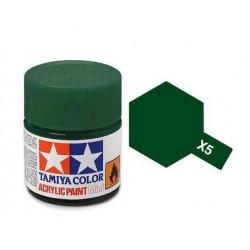 Potje acrylverf X-5 green 23cc