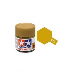 Potje acrylverf X-12 gold leaf 23cc
