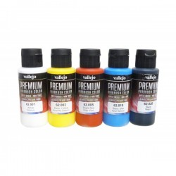 Basisset premium colors 5x60ml.