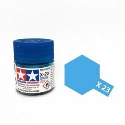 Potje acrylverf X-23 clear blue 23cc
