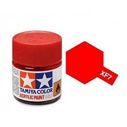 Potje acrylverf XF-7 flat red 23cc