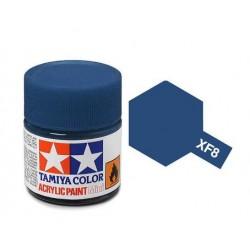 Potje acrylverf XF-8 flat blue 23cc