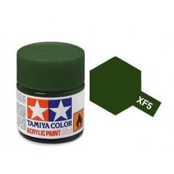 Potje acrylverf XF-5 flat green 23cc
