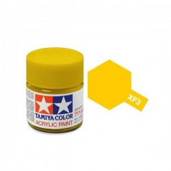 Potje acrylverf XF-3 flat yellow 23cc
