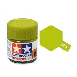 Potje acrylverf XF-4 yellow green 23cc
