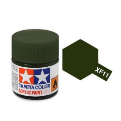 Potje acrylverf XF-11 j.n green 23cc