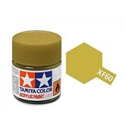 Potje acrylverf XF-60 dark yellow 23cc