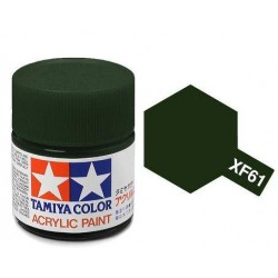 acrylverf XF-61 dark green 23c