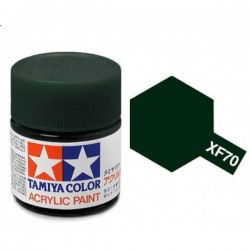 acrylverf XF-70 dark green 23c