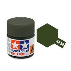 acrylverf XF-58 olive green 23