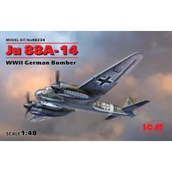 WWII GERMAN JU 88A-14 1/48