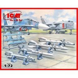 SOVIET AIR-TO-AIR AIRCRAFT ARMAMENT 1/72