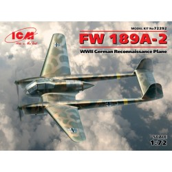 WWII GERMAN FW 189A-2 1/72