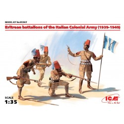 ERITREAN BAT OF THE ITALIAN ARMY 1939-40 1/35
