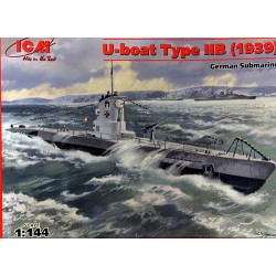 U-BOOT TYPE IIB (1939) 1/144