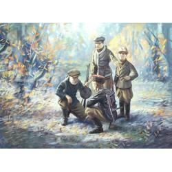 WWII SOVIET PARTISANS 1/35