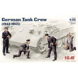 GERMAN TANK CREW 1943-1945 1/35
