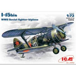 I-15BIS WWII SOVIET FIGHTER 1/72