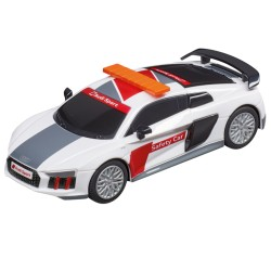 Carrera GO slot car Audi R8 Safetycar 1/43